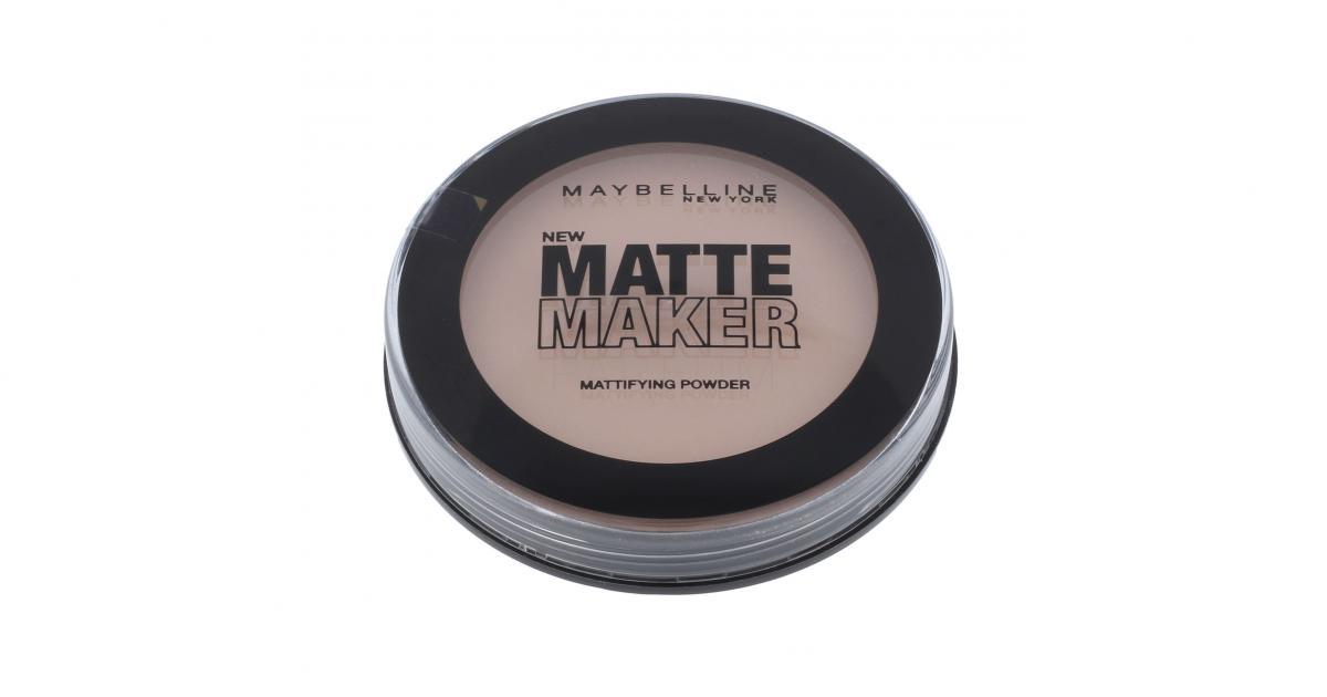 Maybelline Matte Maker Mattifying Face Powder Nude Beige