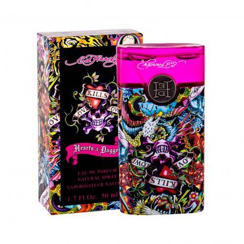 Christian Audigier Ed Hardy Hearts & Daggers EDP 50 ml dla kobiet