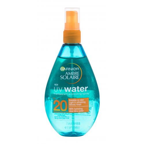 Garnier Ambre Solaire UV Water SPF20 preparat do opalania ciała 150 ml unisex Wodoodporny