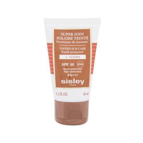 Sisley Super Soin Solaire Teinté Tinted Sun Care SPF30 preparat do opalania twarzy 40 ml dla kobiet 2 Golden Wodoodporny