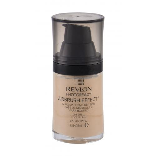 Revlon Photoready Airbrush Effect SPF20 podkład 30 ml dla kobiet 003 Shell