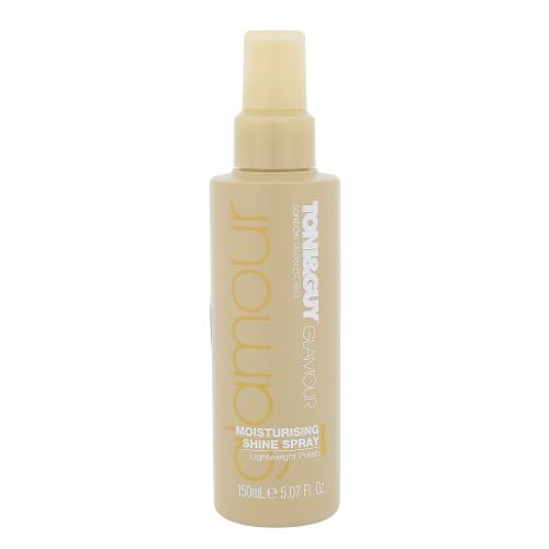 TONI&GUY Glamour Moisturising Shine Spray na połysk włosów 150 ml dla kobiet