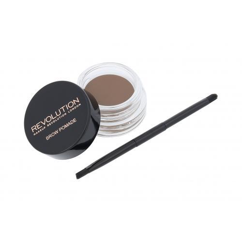 Makeup Revolution London Brow Pomade żel i pomada do brwi 2,5 g dla kobiet Blonde