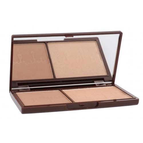 Makeup Revolution London I Heart Makeup Chocolate Duo Palette bronzer 11 g dla kobiet Bronze And Glow