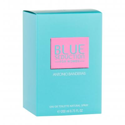 Antonio Banderas Blue Seduction For Women Wody toaletowe dla kobiet