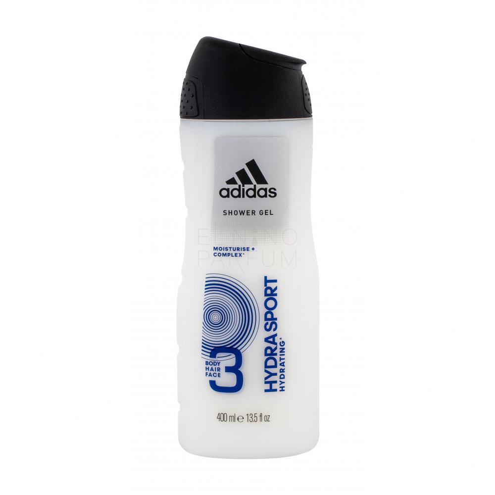 Adidas Hydra Sport 3in1 Żel pod prysznic dla mężczyzn 400 ml