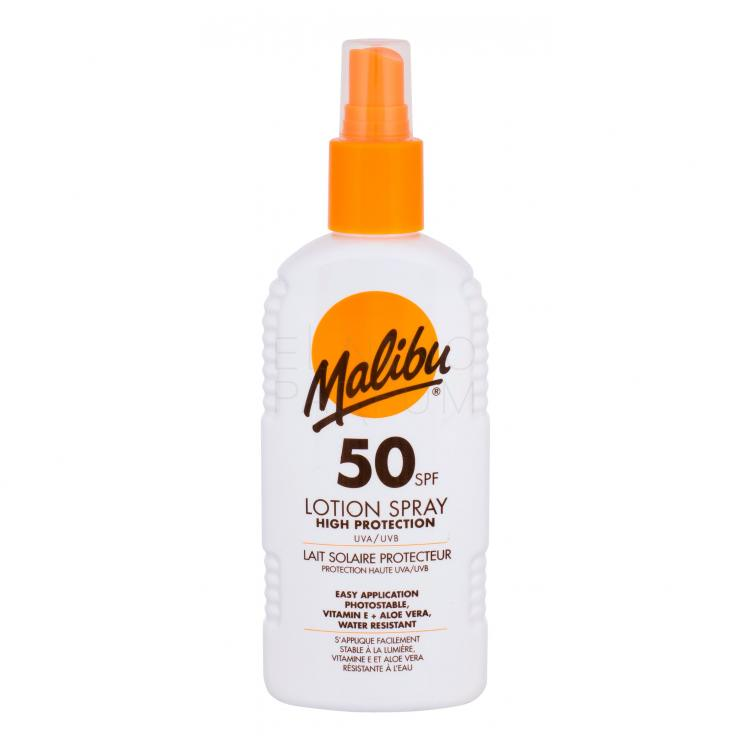 Malibu Lotion Spray SPF50 Preparat do opalania ciała 200 ml
