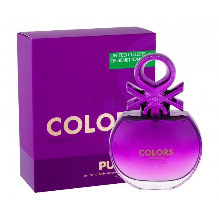 benetton colors de benetton purple