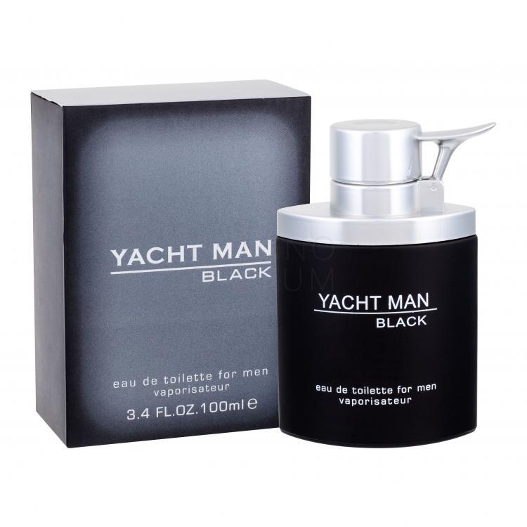 myrurgia yacht man - black