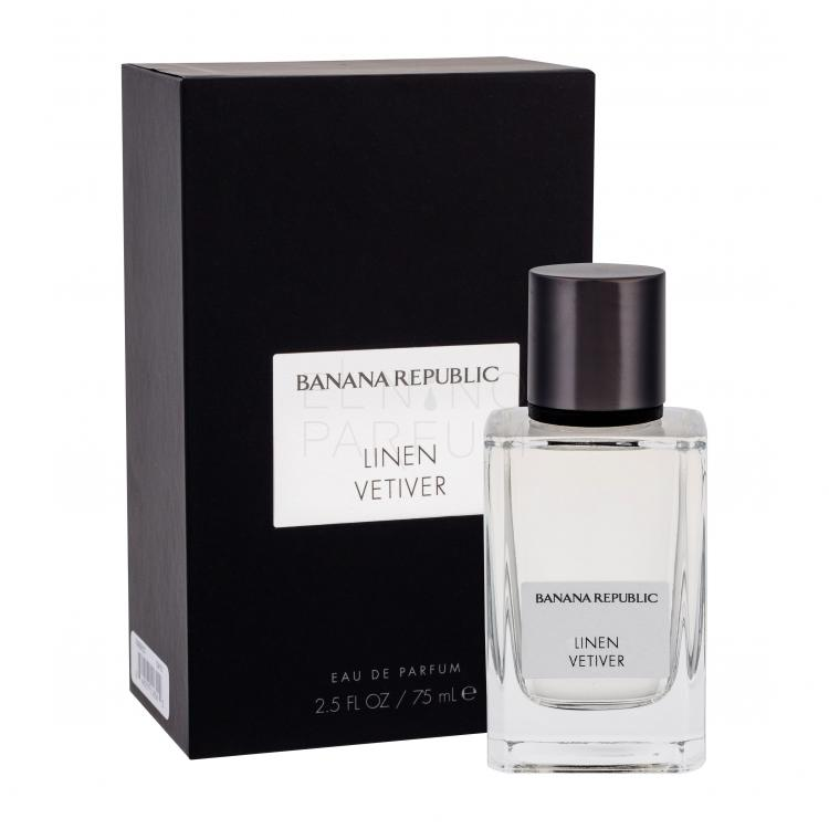 banana republic linen vetiver