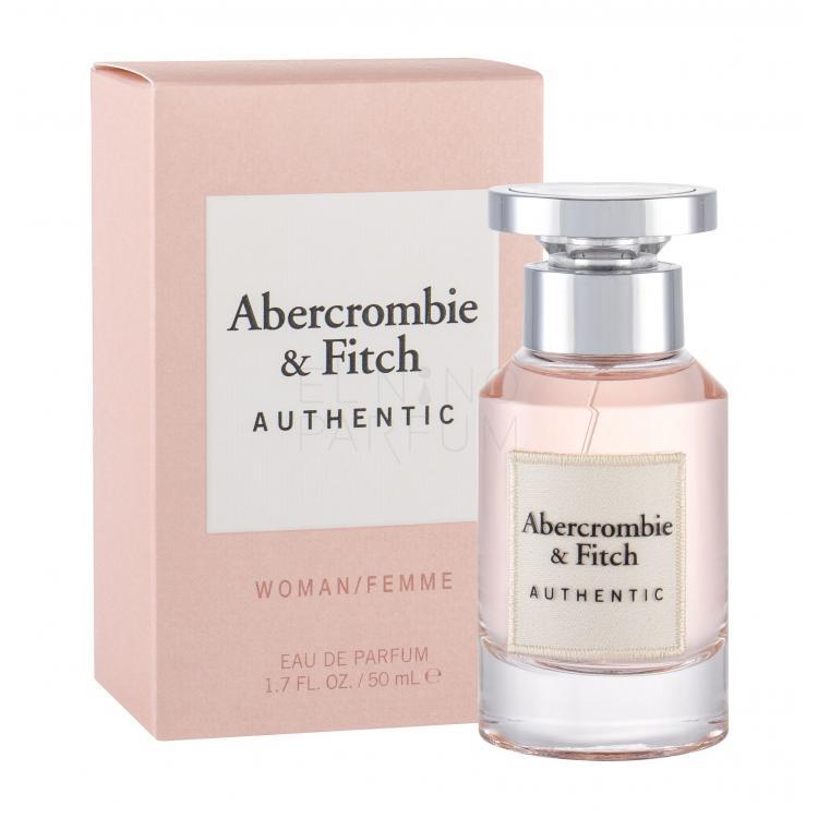 abercrombie & fitch authentic woman woda perfumowana dla kobiet 50 ml false