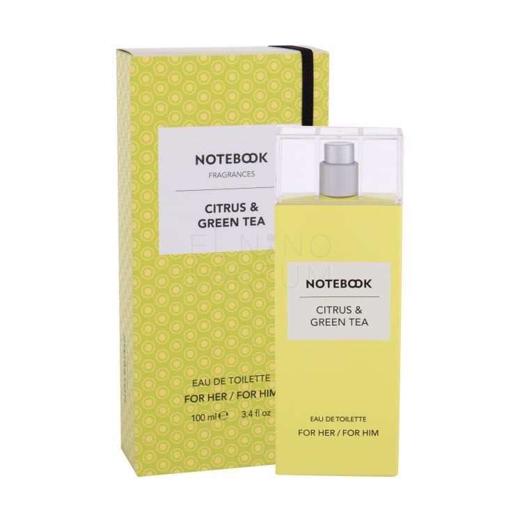 notebook citrus & green tea