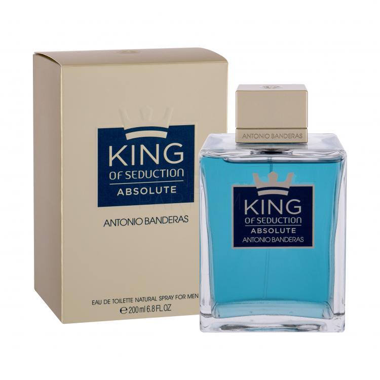 antonio banderas king of seduction absolute woda toaletowa 200 ml false