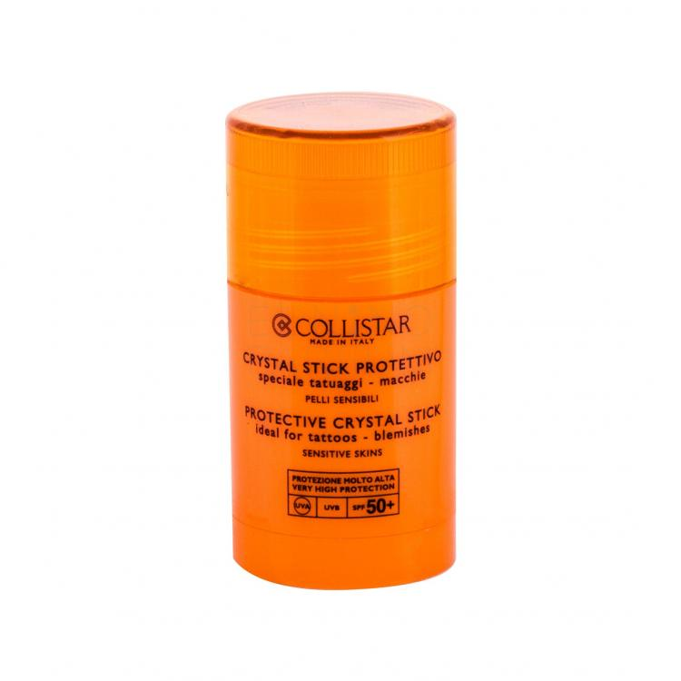 Collistar Special Perfect Tan Protectiv Crystal Stick SPF50+ Preparat do opalania twarzy dla kobiet 25 ml tester