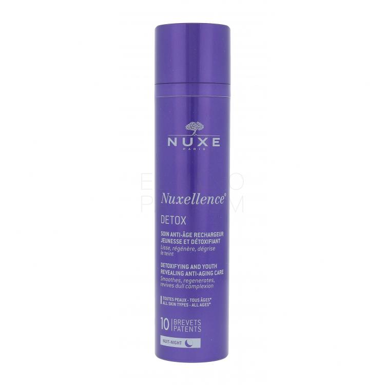 NUXE Nuxellence Detox Anti-Aging Night Care Krem na noc dla kobiet 50 ml