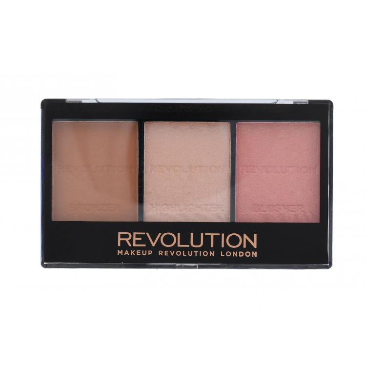 Makeup Revolution London Ultra Sculpt & Contour Kit Róże dla kobiet