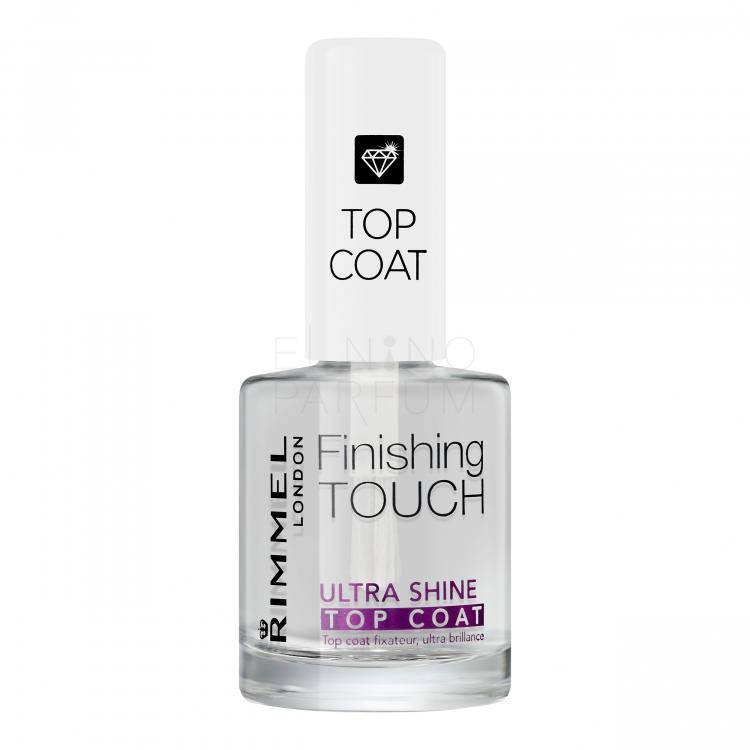 Rimmel London Finishing Touch Ultra Shine Top Coat Lakiery do paznokci dla kobiet