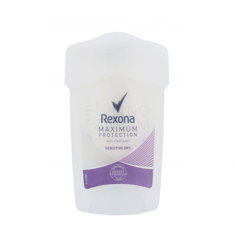 Rexona Maximum Protection Sensitive Dry Antyperspiranty dla kobiet