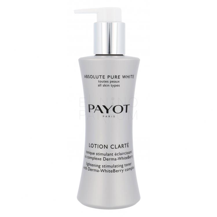 PAYOT Absolute Pure White Lotion Clarte Lighening Toner Toniki dla kobiet